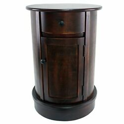 Side Table Vintage Cherry Finish $186.00