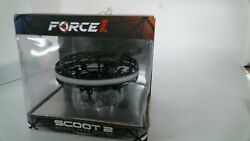 Force1 Scoot 2 LED Hand Operated Drone Kids or Adults Hands Free Dark Metal $25.00