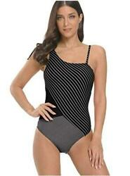 Swimsuits for Women One Piece Sexy Deep V Halter Bathing 1 Black Size Large qP $9.99