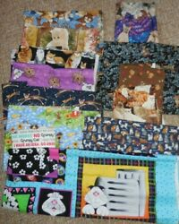 Cats amp; Kitten 8.5 yds GREAT VARIETY for MASKS 100% Cotton Fabric 2.5 lbs $29.50