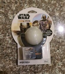 Mandalorian LED Night Light Sensing 3 ft Projected Image on Wall or Ceiling kids $7.00