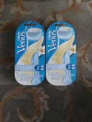 Gillette Venus Comfort Glide Vanilla Creme Razor amp; 2 Cartridges Buy 2 Save 10% $7.75