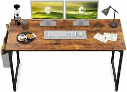 CubiCubi Study Computer Desk 47quot; Home Office Writing Small Desk Modern Simple $64.99