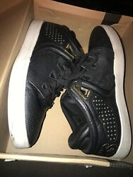 Osiris D3V Mens Shoes Mid Gold White Black Leather Skateboard Sneakers Size 10 $29.72