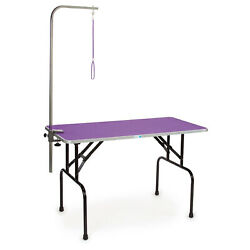 Master Equipment Nonslip Pet Grooming Table Adjustable Leash Arm For Parts $77.99