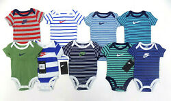 Nike Baby Boys 9 Piece Swoosh Bodysuit Set 3 Months New with tags $42.99