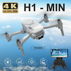 H1 Mini Drones with WiFi FPV 4K Camera Drone LED Lights Quadcopter for Kids E0I7 $29.65