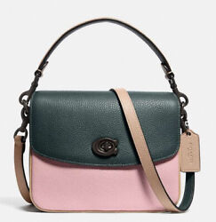 NWT GUARANTEED 100% AUTHENTIC COACH Cassie Crossbody 19 In Colorblock $185.00