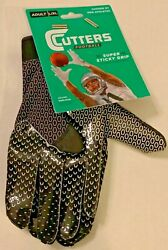 Cutters Football Gloves quot;Chosen By Pro Athletesquot; Super Sticky Grip $18.95