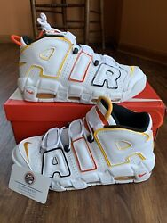 Nike Air More Uptempo Roswell Rayguns White Size 8.5 13 DD9223 100 NEW FAST SHIP $219.99