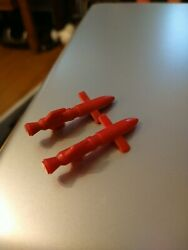 1987 GI Joe ARAH Cobra Mamba Parts Small Drone Pod Missile x2 $3.09