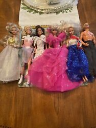FIVE VINTAGE MATTEL BARBIE DOLL LOT amp; KEN TOTAL OF SIX $50.00