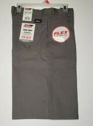 Men#x27;s Genuine Dickies Work Short Size 30 Relaxed Fit Flex 13quot; Inseam NWT $19.95
