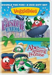 VeggieTales An Easter Carol Abe and the Amazing Promise DVD Dan Anderson NEW $4.99