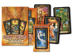 Easy Tarot Kit Deck Book amp; Layout Sheet Llewellyn New Sealed $24.99