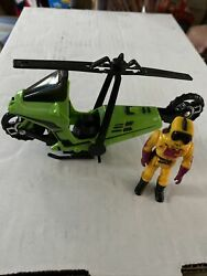 MASK Condor Motorcycle Helicopter with Brad Turner action figure Kenner $40.00
