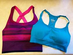 2 pack Sports Bras Spalding Size S With Padding $11.25