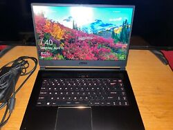 MSI GS65 Stealth Gaming Laptop 756GB i7 8th Gen 1070MAXQ 16GB Free Ship *READ* $750.00
