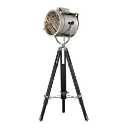 One Light Floor Lamp Black Chrome Finish with Metal Shade Floor Lamps $550.72