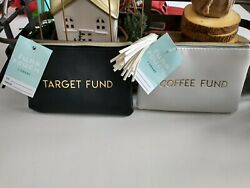 Target Zipper Coffee amp; Target Fund Pouches $24.99