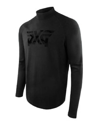 PXG Men#x27;s Comfort Camo Mock Neck Shirt