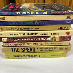 Vintage Paperback Horror Western and Classic Stories YOU PICK THE ONE YOU WANT $5.95