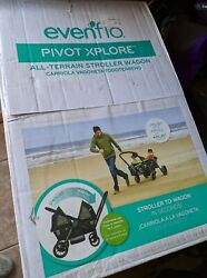Evenflo Pivot Xplore All Terrain Double Stroller Wagon Wayfarer $285.00