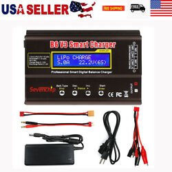 Battery Balance Discharger B6 V3 80W 6A Lipo Battery Charger for RC Battery $37.99