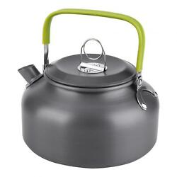 Outdoor Teapot Scratch Resistance Portable Water Kettle Hiking For Picnic Home $19.65