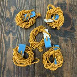 Tie Cords for Poultry Chickens 5pcs 6ft Pro Short Hitches tiecords string walk $30.00