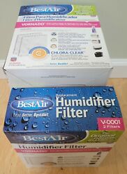 Best Air Replacement Humidifier Filter V 0001 Vornado Holmes 2 Filters NEW $9.99