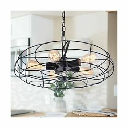 OYIPRO Rustic Chandeliers Farmhouse Industrial Hanging Pendant Light 5 Light... $100.66
