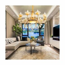 YUYUE Crystal ChandeliersVintage Pendant Lighting Modern Contemporary Chande... $188.06