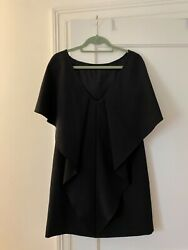Milly black cocktail dress with tags Size 8