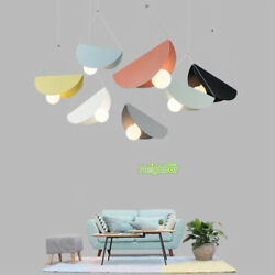 Colored Metal Origami Pendant Lamp Creative Iron Folded Paper Ceiling Chandelier $49.99