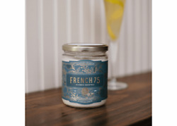 NEW French 75 Cocktail 12 oz. Rewined Candle $15.00