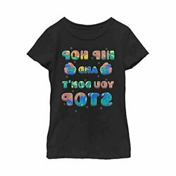 Fifth Sun Girls#x27; Hip Hop Adorable Easter Tee Black Size Medium Fc70 $13.99