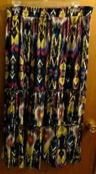 New Directions Southwest Aztec Peasant Skirt Women XL $18.99