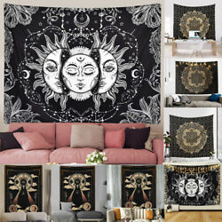 Tapestry Mandala Wall Hanging Indian Hippie Psychedelic Tapestry Bohemian Decor $16.99