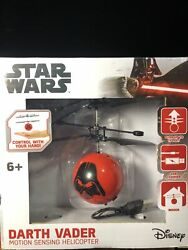 Star Wars Darth Vader Motion Sensing Helicopter. Control With Your Hand. NEW $12.45
