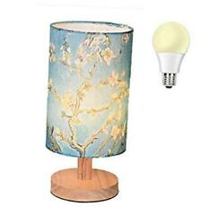 Table Desk Lamp Small Art Decor Nightstand Night Light Solid Almond Blossom $44.41
