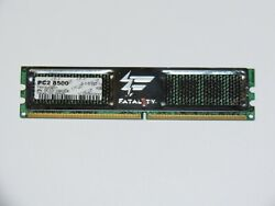 OCZ Fatal1ty Edition 1GB 240 Pin DDR2 SDRAM PC2 8500 1066Mhz Desktop Memory $13.99