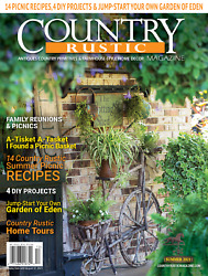 Country Rustic Magazine SUMMER 2021 Issue Country Primitives amp; Farmhouse Style $9.95