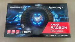 SAPPHIRE NITRO AMD Radeon RX 6800 Gaming OC 16GB GDDR6 Video Card 11305 01 20G $1599.95