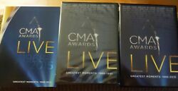 CMA Awards Live: Greatest Moments 1968 2015 DVD 10 Disc Set Time Life