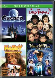 Casper The Little Rascals Harry and the Hendersons Nanny McPhee DVD NEW $5.99