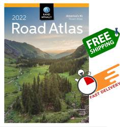 Rand Mcnally USA Road Atlas 2022 BEST Large Scale Travel Maps United States NEW $17.99