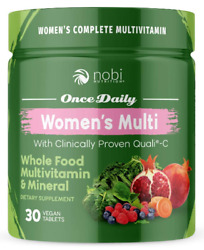 Vegan Multivitamin for Women Women#x27;s Once Daily Whole Food Vitamin Supplement $14.99