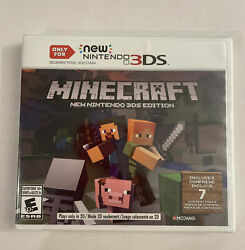 Minecraft for New Nintendo 3DS Nintendo 3DS Sealed $33.00