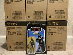 "MINT STAR WARS VINTAGE COLLECTION ROTJ BOBA FETT 3.75"" ACTION FIGURE VC186. WOW $22.00"